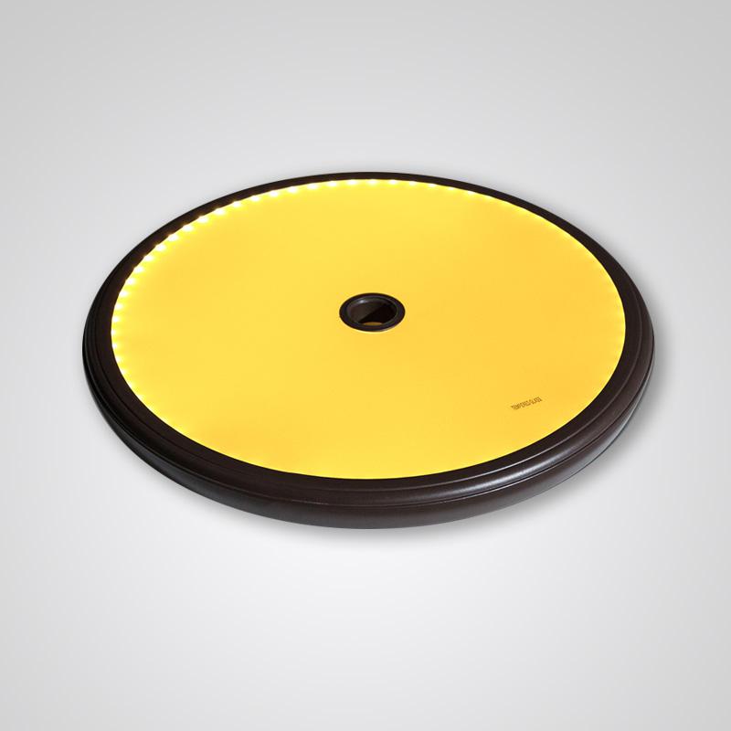Solar tabletop light